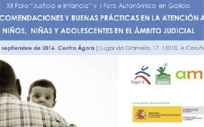 I Foro Autonómico «Justicia e Infancia» en A Coruña